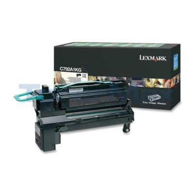 LEXMARK C792 PRINT CART BLACK RP 6K